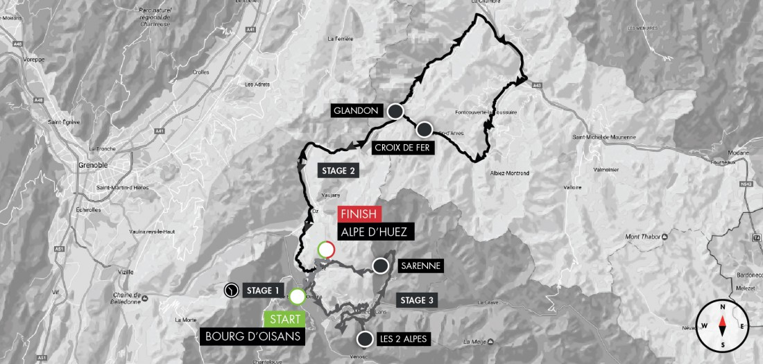 An Idiots Guide to the Haute Route Alpe dHuez A guide written by